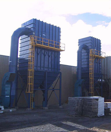 Commercial and industrial cyclonic separators