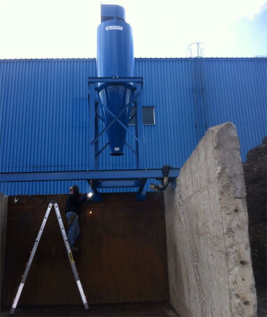 ACP-800 cartridge dust collector