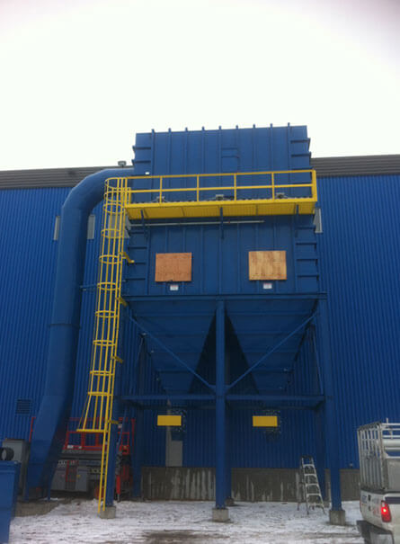 Dust collectors and commercial and industrial cyclones